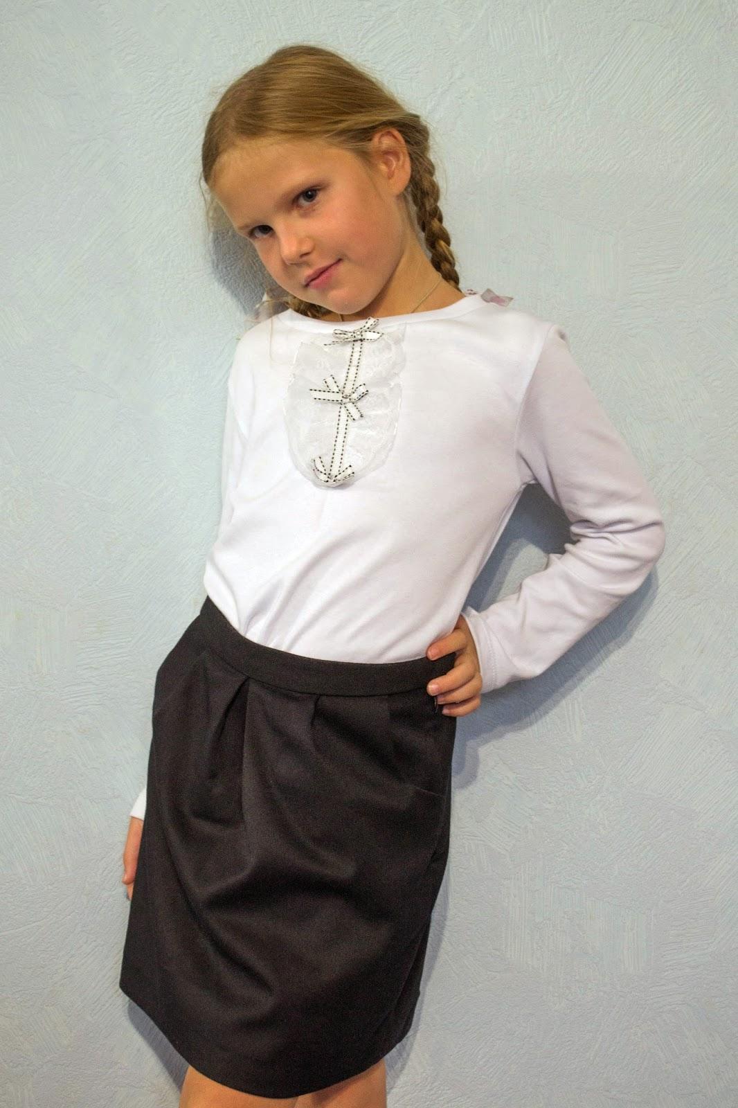 Купить Школьную Блузку Для Девочки Со Скидкой