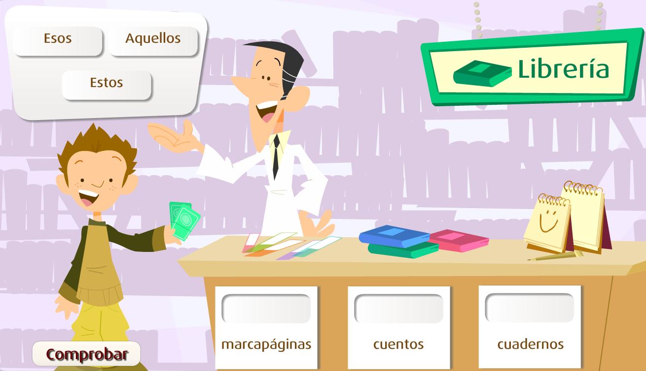 http://www.primerodecarlos.com/TERCERO_PRIMARIA/enero/Unidad_6/actividades/lengua/demostrativo2/frame_prim.swf
