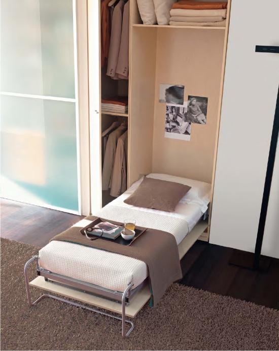 Ideas camas para espacios reducidos diseo de mueble - Camas abatibles juveniles para espacios reducidos ...