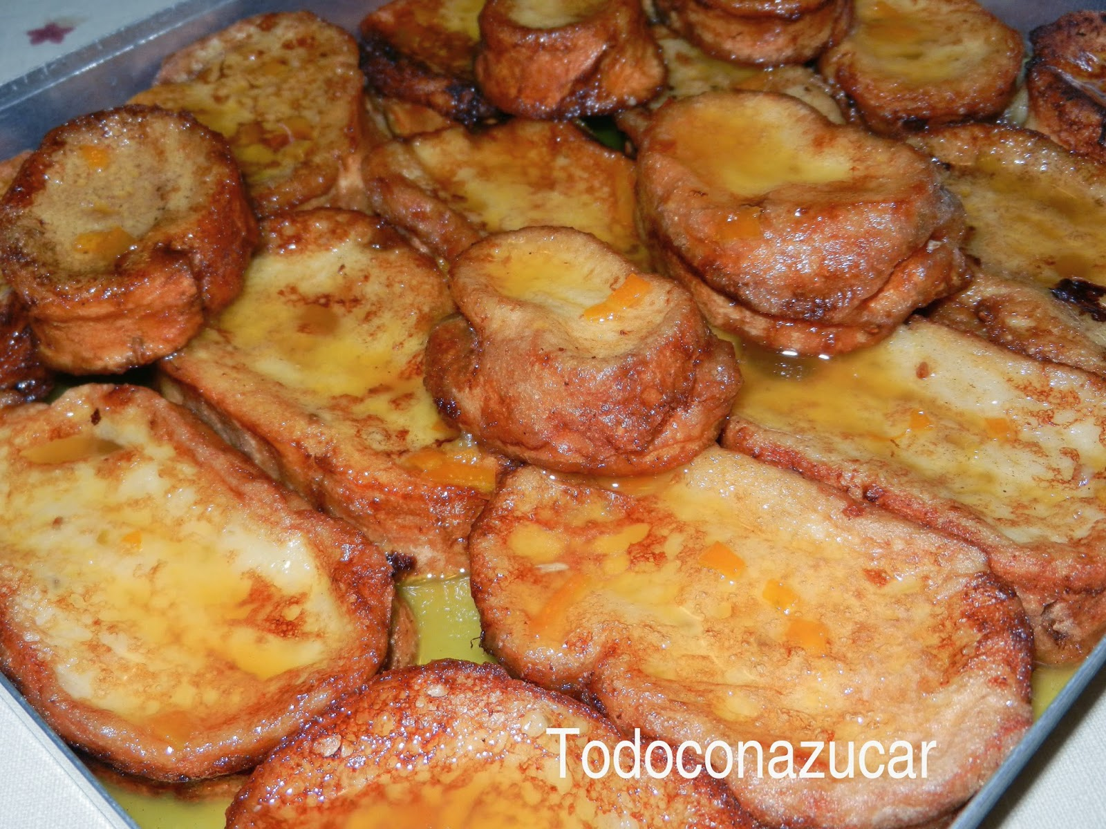 Torrijas Con Naranja Y Jerez Dulce
