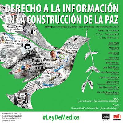 Derecho a la información en la construcción de la paz