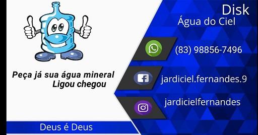 PUBLICIDADE - ÁGUA DO CIEL