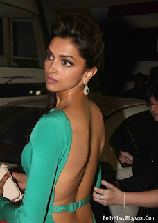 WWW.BOLLYM.BLOGSPOT.COM Actress Deepika Padukone  Pictures in Green Bareback Gown at 18th Annual Colors Screen Awards Picture Stills Image Gallery 0004.jpg