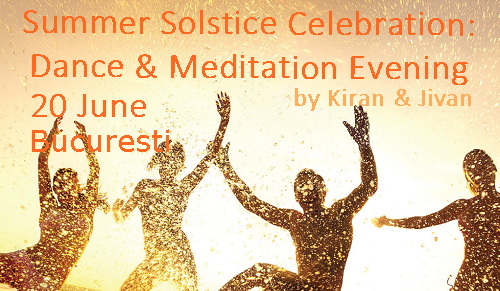 Transformation, Evolution & Wellbeing events with Kiran & Jivan
