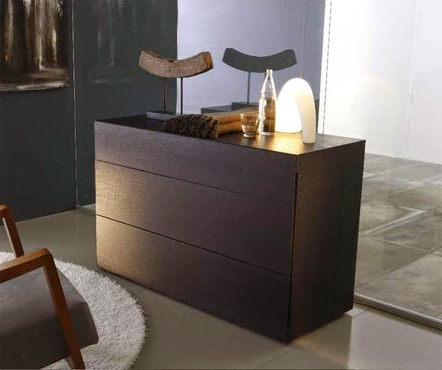 modern Black dressers chests and bedroom armoires