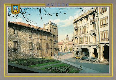 Palacio Ferrera y Ayuntamiento de Avilés