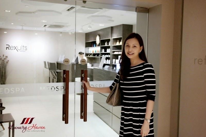 singapore celebrity influencer reviews rexults medspa