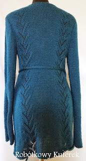 sweter wiązany