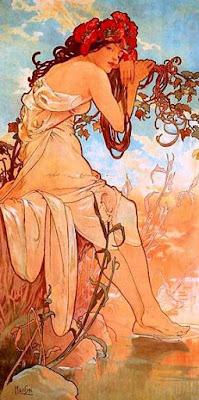 Estiu (Alfons Mucha)
