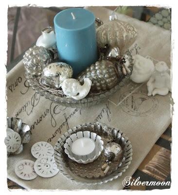 Silvermoon einfache weihnachtsdeko - Weihnachtsdeko tisch ...