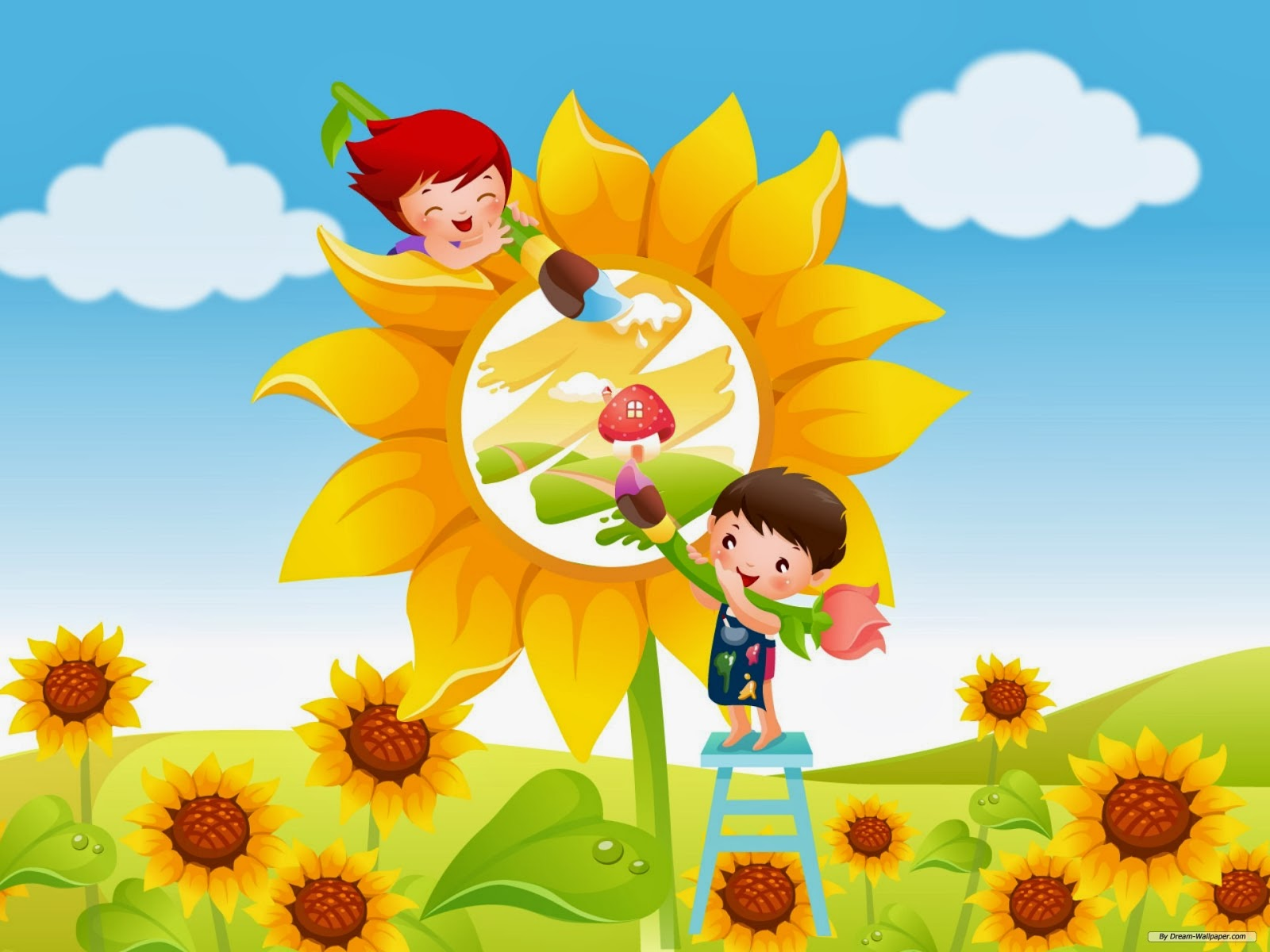cute kids wallpaper children game - beautiful desktop wallpapers 2014