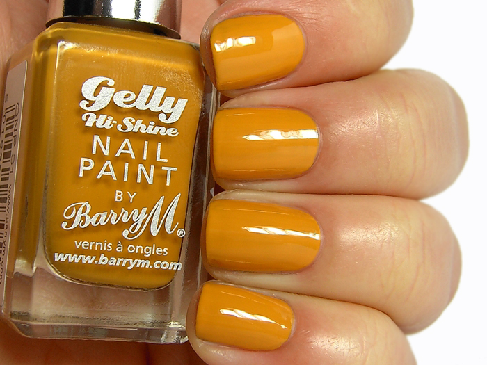 Barry M Gelly Nail Paint - Mustard