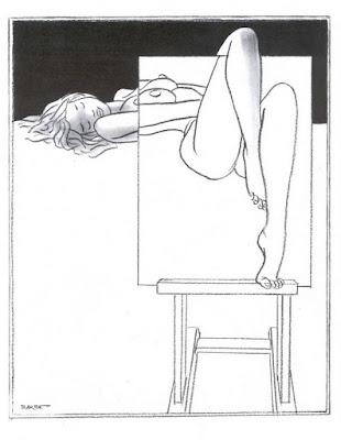 Eroticos y Divertidos Dibujos André François Barbè
