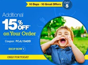Firstcry : Firstcry Baby & Kids products upto 60% off + 15% off on Rs. 176