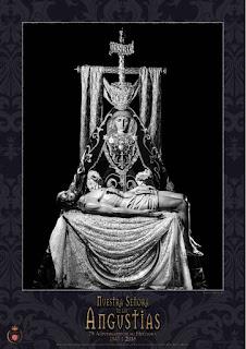 Cartel del LXXV aniversario de la bendición de la Virgen de las Angustias