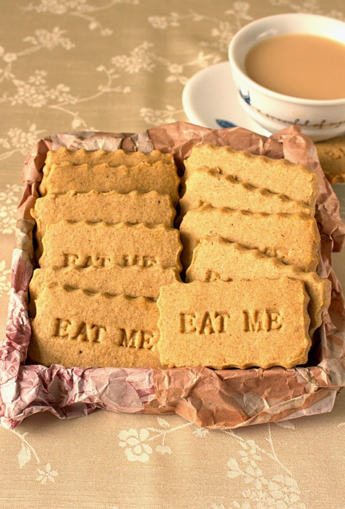 Speculaas Spiced Shortbread made using the historical traditional Dutch spice blend. AKA speculoos biscuits.