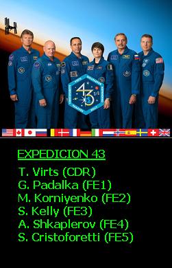 Expedición 43