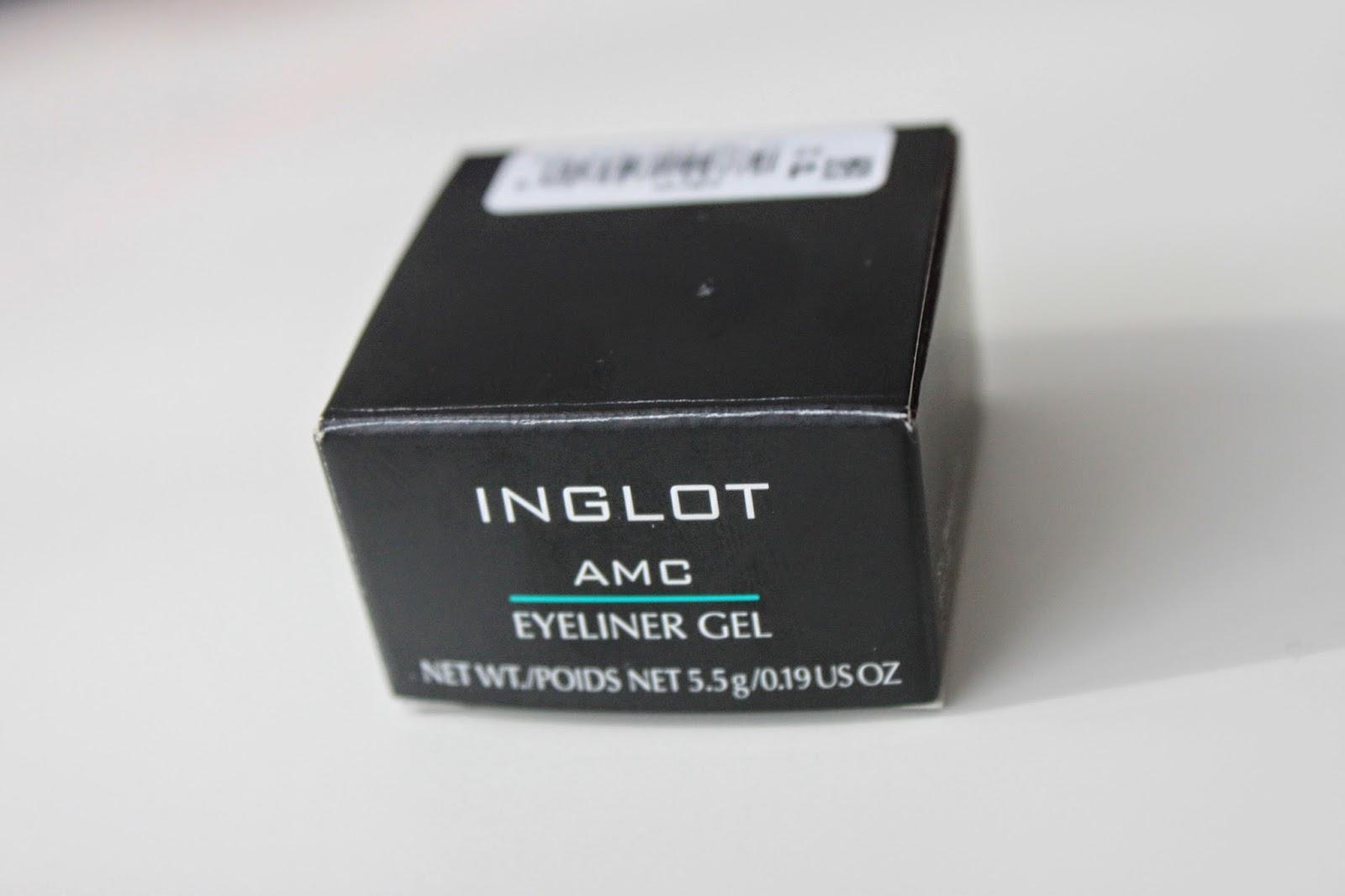 Review Inglot EyeLiner Gel