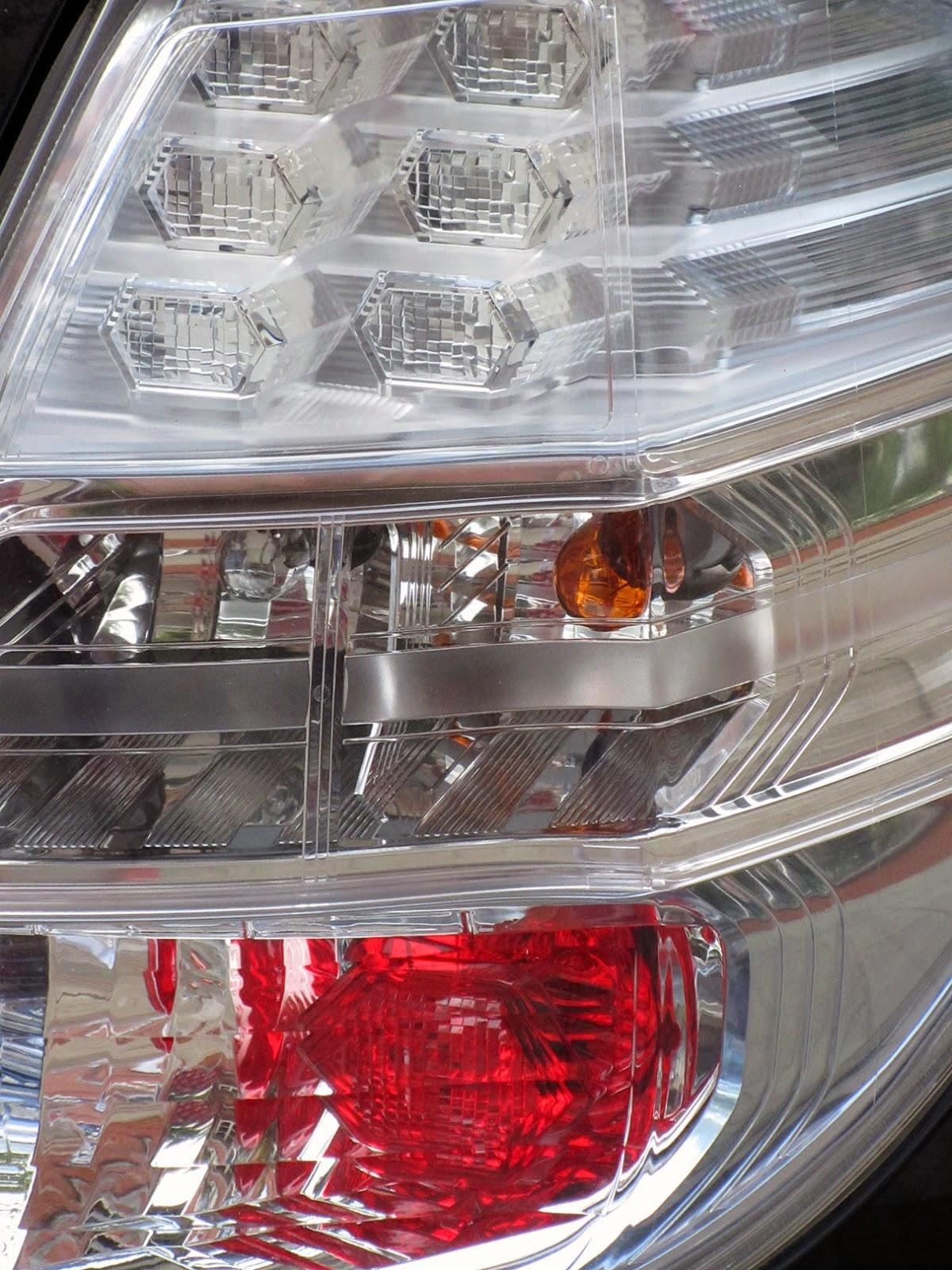 three layered taillight