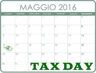 Tax Day: quand'é la scadenza quali tasse da pagare