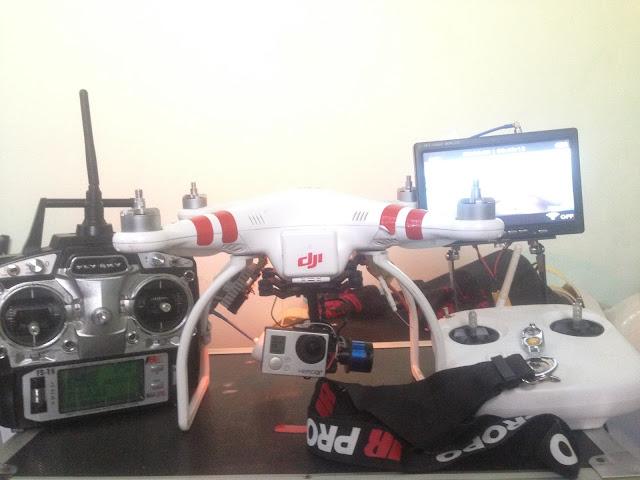 Cần bán Full Bộ Flycam DJI Phantom cũ giá rẻ - Nha Trang