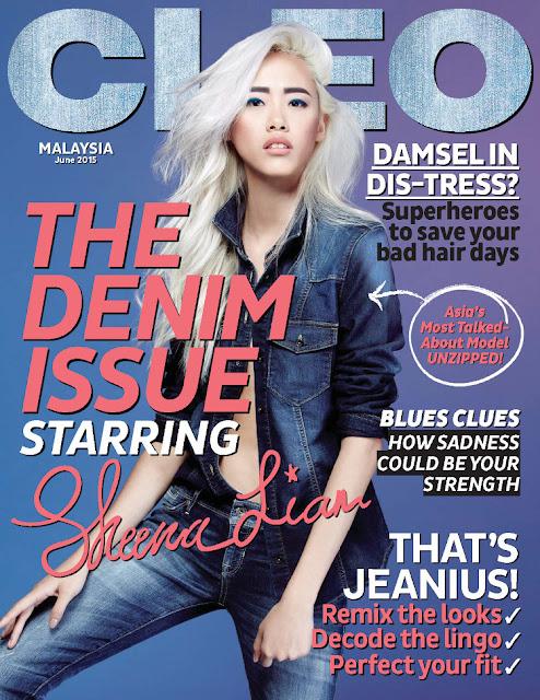Model @ Sheena Liam - CLEO Malaysia, June 2015