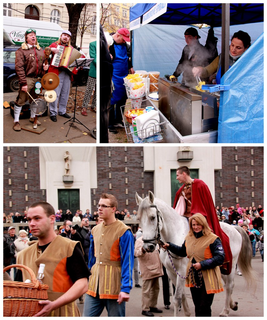 st. martin's day festival at jiriho z podebrad in prague czech republic, 2012
