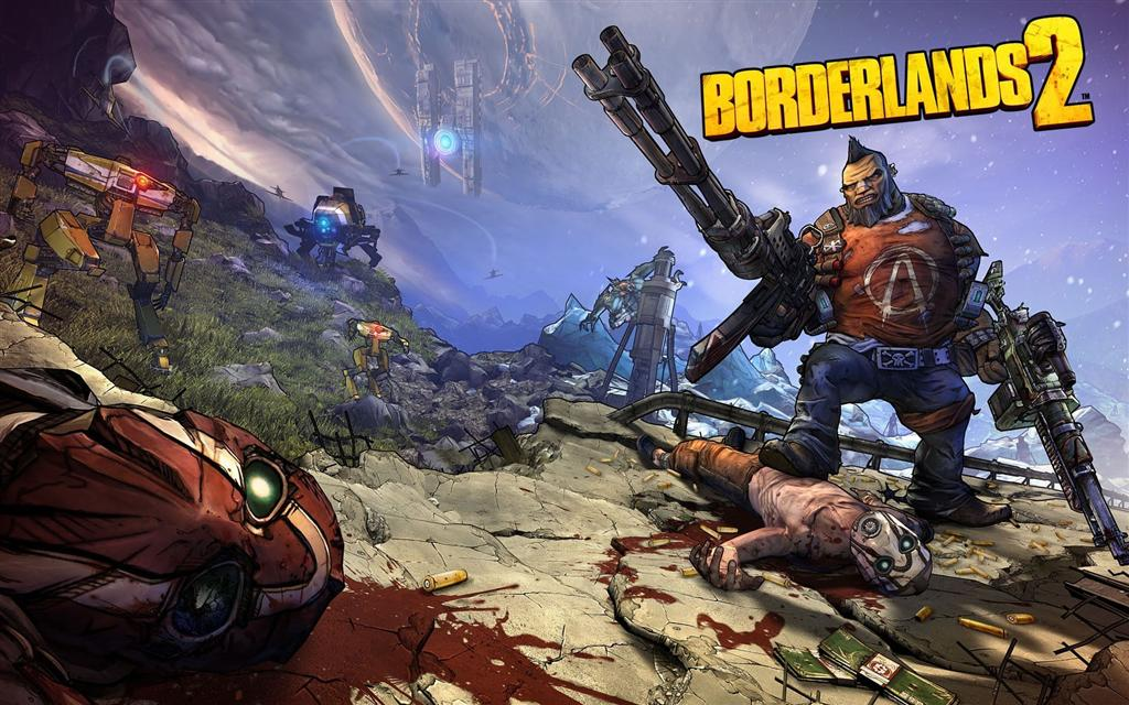 Borderlands HD & Widescreen Wallpaper 0.65516792233259