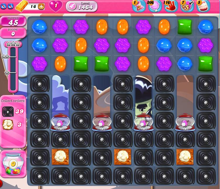 Candy Crush Saga 1464