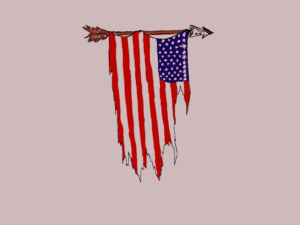 Old American Flag Tattoo - Tattoo Design Ideas