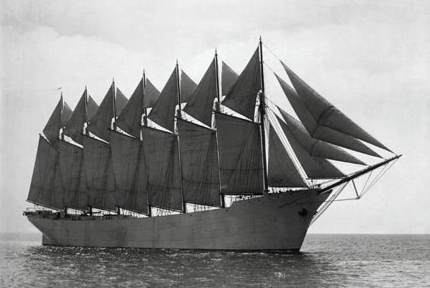bateau 6 mats
