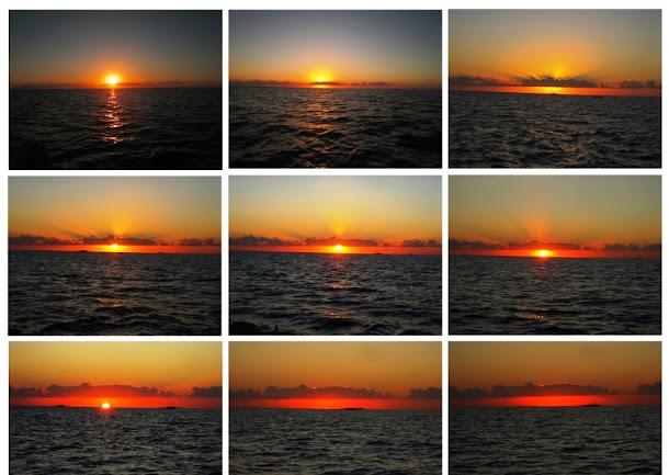 Menatap Pesona Sunset  Bumi Tanadoang