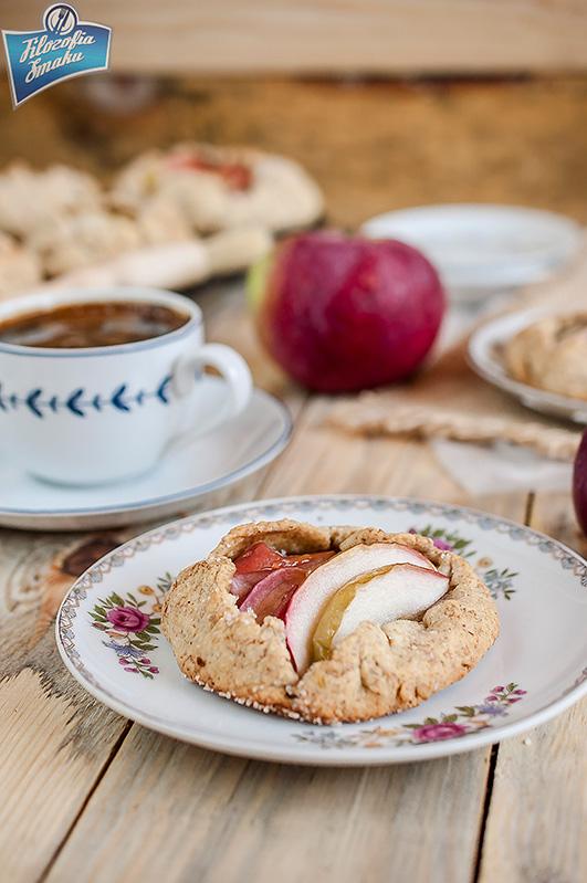 Mini galette z jabłkami