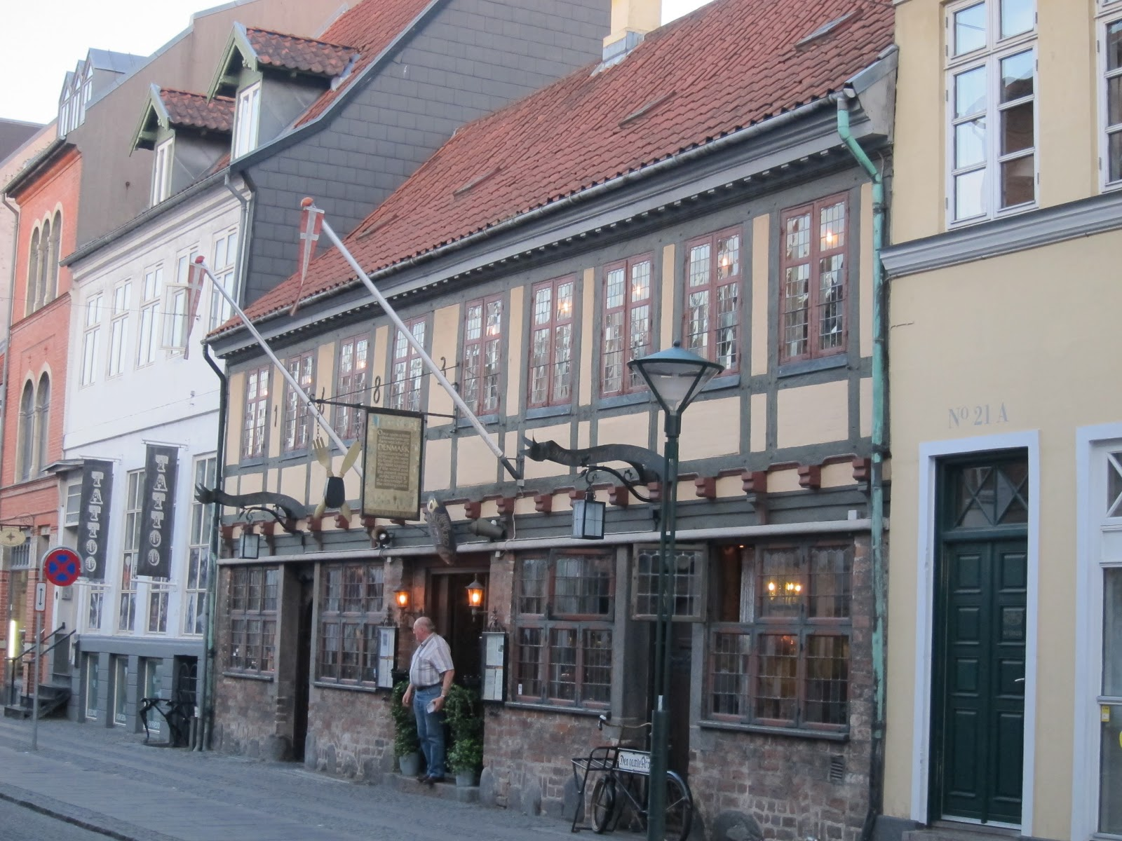 den gamle by i Odense kino Aabenraa