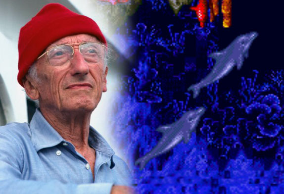 Jacques cousteau introduces the world to the silent world of our oceans