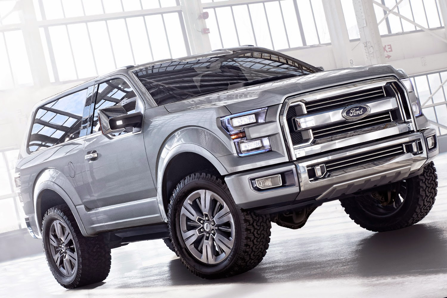 We Love Ford's, Past, Present And Future.: 2016 Ford Bronco SVT Raptor