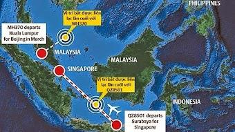 Những trùng hợp và mối liên hệ không ngờ giữa QZ8501 với MH370
