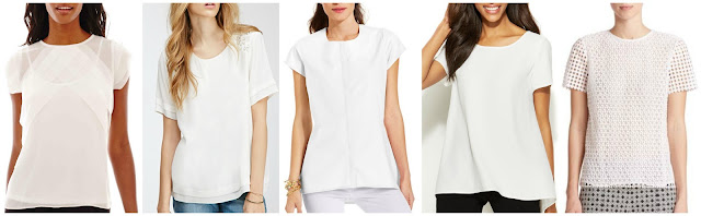 Liz Claiborne Short Sleeve Pleated Blouse with Cami $17.99 (regular $36.00)  Forever 21 Faux Pearl Embellished Blouse $19.99 (regular $29.90)  NY Collection Short Sleeve High Low Blouse $25.00 (regular $50.00)  Alfani Short Sleeve High Low Blouse $41.70 (regular $69.50)  Tory Burch Crescent Guipure Top $177.00 (regular $295.00)