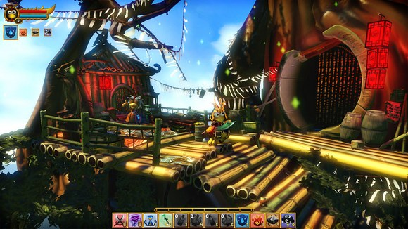 Moorhuhn Tiger and Chicken 4              Screenshot for PC Moorhuhn: Tiger and Chicken HI2U
