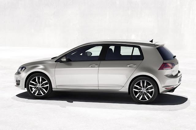 Novo Volkswagen Golf 2013 - lateral