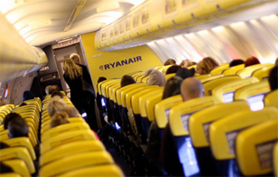 Ryanair Prohibe beber Alcohol