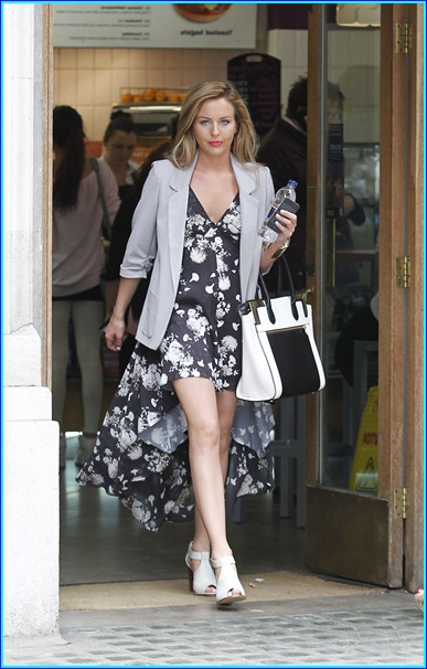 Lydia Bright Pictures Seen out in London