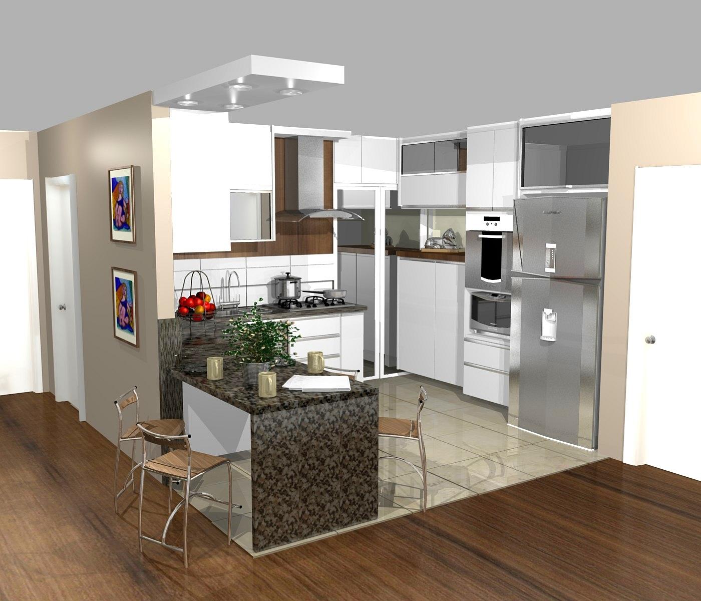 Cozinha Americana Planejada Pequena Cozinha Pequena Americana
