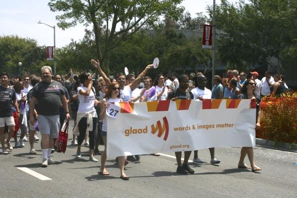 Glaad LA Pride Parade 2013