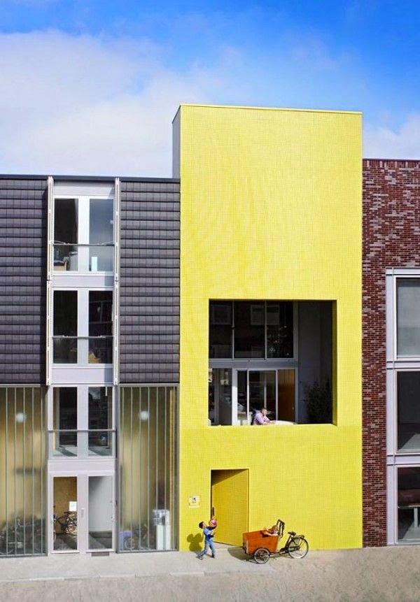 Barrio Ijburg, Amsterdam, arquitectura de vanguardia