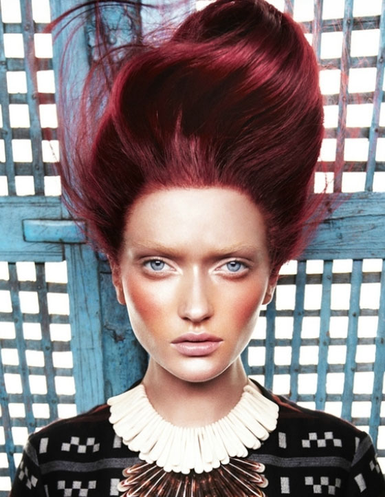 HOUSE OF STEFAN RED HOT Fiery Winter Hair Colour