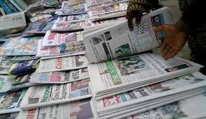 Newspapers reports in Nigeria