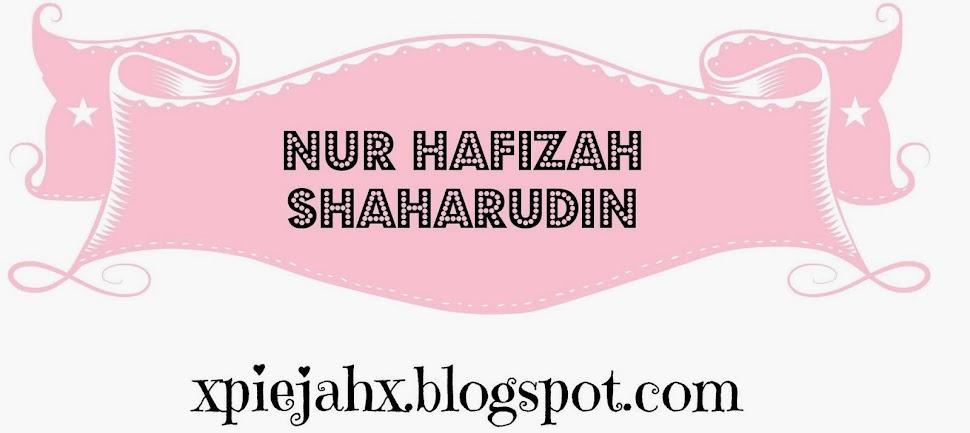 Nur Hafizah Shaharudin