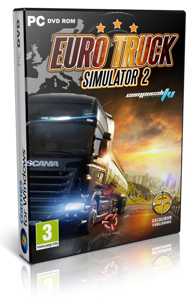 Download Euro Truck Simulator 2 Full Version + SN  (Single Link)