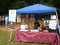 Booth at Brockville Fairies in the Park
